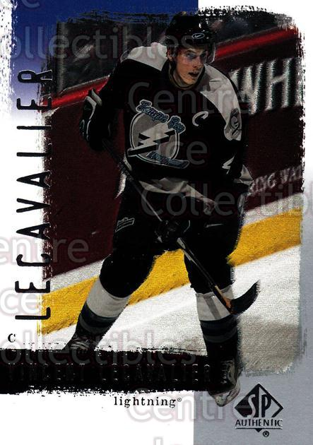 2000-01 SP Authentic #80 Vincent Lecavalier<br/>5 In Stock - $1.00 each - <a href=https://centericecollectibles.foxycart.com/cart?name=2000-01%20SP%20Authentic%20%2380%20Vincent%20Lecaval...&quantity_max=5&price=$1.00&code=87877 class=foxycart> Buy it now! </a>