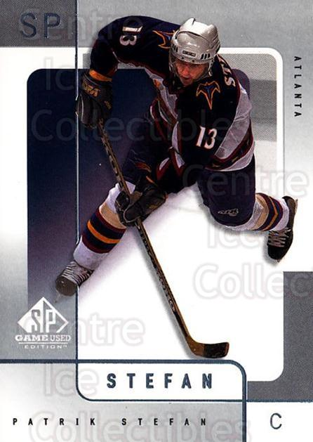 2000-01 SP Game Used #3 Patrik Stefan<br/>5 In Stock - $1.00 each - <a href=https://centericecollectibles.foxycart.com/cart?name=2000-01%20SP%20Game%20Used%20%233%20Patrik%20Stefan...&quantity_max=5&price=$1.00&code=87901 class=foxycart> Buy it now! </a>