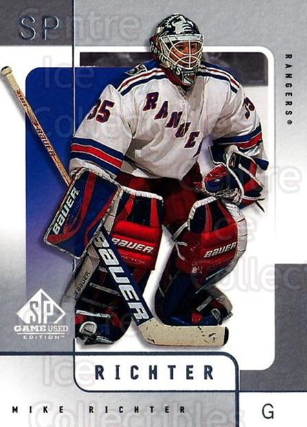 2000-01 SP Game Used #40 Mike Richter<br/>5 In Stock - $1.00 each - <a href=https://centericecollectibles.foxycart.com/cart?name=2000-01%20SP%20Game%20Used%20%2340%20Mike%20Richter...&quantity_max=5&price=$1.00&code=87910 class=foxycart> Buy it now! </a>