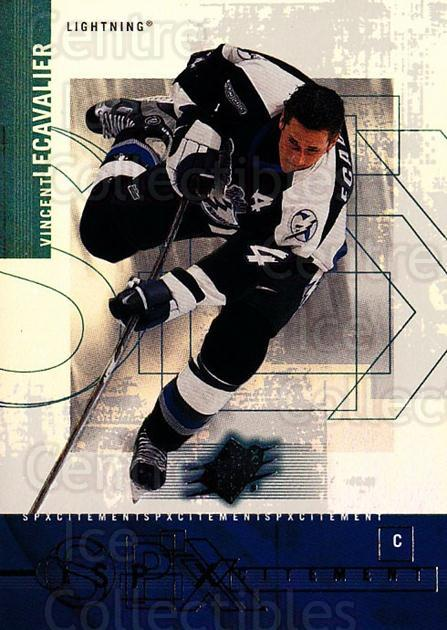 2000-01 SPx SPXcitement #13 Vincent Lecavalier<br/>10 In Stock - $2.00 each - <a href=https://centericecollectibles.foxycart.com/cart?name=2000-01%20SPx%20SPXcitement%20%2313%20Vincent%20Lecaval...&quantity_max=10&price=$2.00&code=88001 class=foxycart> Buy it now! </a>
