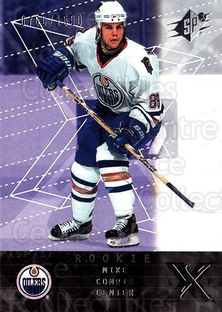 2000-01 SPx #161 Mike Comrie<br/>1 In Stock - $5.00 each - <a href=https://centericecollectibles.foxycart.com/cart?name=2000-01%20SPx%20%23161%20Mike%20Comrie...&quantity_max=1&price=$5.00&code=88061 class=foxycart> Buy it now! </a>