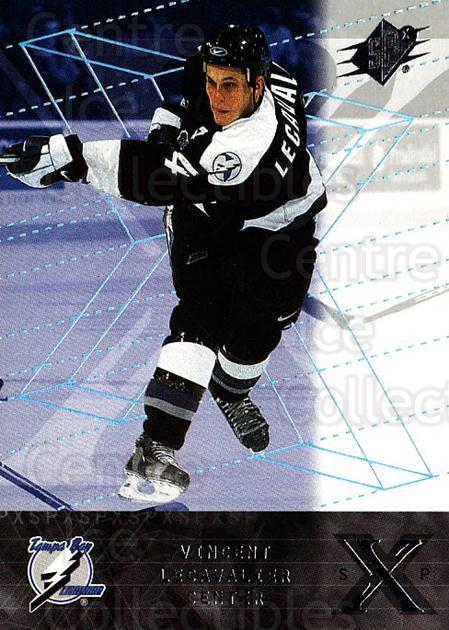2000-01 SPx #63 Vincent Lecavalier<br/>6 In Stock - $1.00 each - <a href=https://centericecollectibles.foxycart.com/cart?name=2000-01%20SPx%20%2363%20Vincent%20Lecaval...&quantity_max=6&price=$1.00&code=88133 class=foxycart> Buy it now! </a>