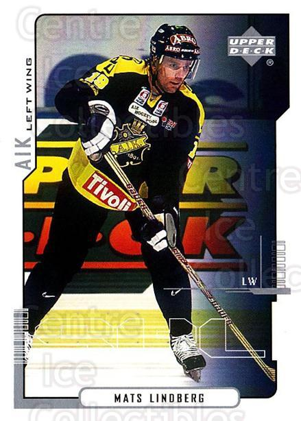 2000-01 Swedish Upper Deck #10 Mats Lindberg<br/>7 In Stock - $2.00 each - <a href=https://centericecollectibles.foxycart.com/cart?name=2000-01%20Swedish%20Upper%20Deck%20%2310%20Mats%20Lindberg...&quantity_max=7&price=$2.00&code=88395 class=foxycart> Buy it now! </a>