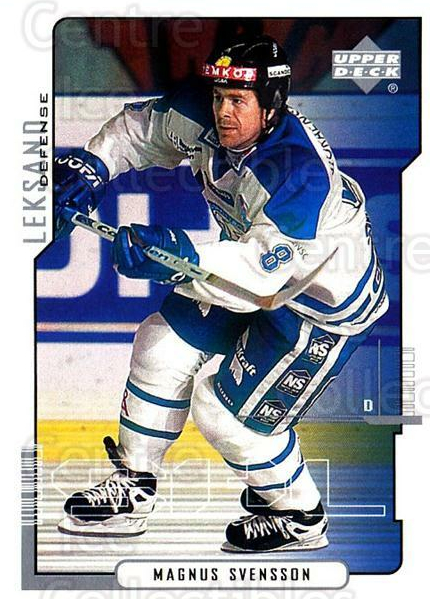 2000-01 Swedish Upper Deck #107 Magnus Svensson<br/>6 In Stock - $2.00 each - <a href=https://centericecollectibles.foxycart.com/cart?name=2000-01%20Swedish%20Upper%20Deck%20%23107%20Magnus%20Svensson...&quantity_max=6&price=$2.00&code=88400 class=foxycart> Buy it now! </a>
