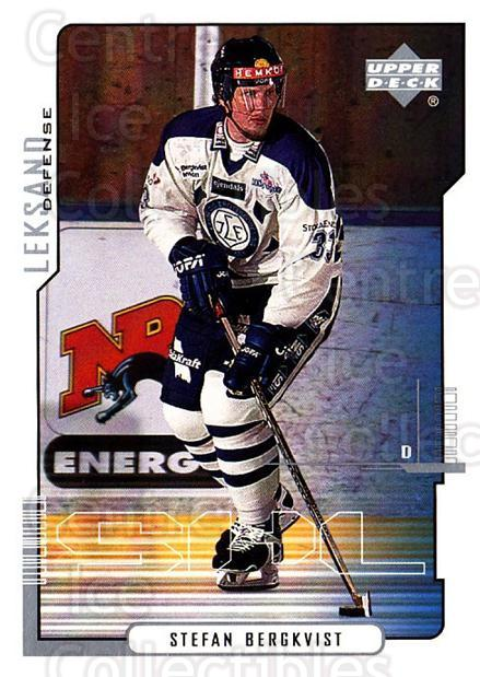 2000-01 Swedish Upper Deck #109 Stefan Bergkvist<br/>5 In Stock - $2.00 each - <a href=https://centericecollectibles.foxycart.com/cart?name=2000-01%20Swedish%20Upper%20Deck%20%23109%20Stefan%20Bergkvis...&quantity_max=5&price=$2.00&code=88401 class=foxycart> Buy it now! </a>