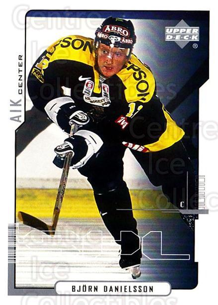 2000-01 Swedish Upper Deck #11 Bjorn Danielsson<br/>8 In Stock - $2.00 each - <a href=https://centericecollectibles.foxycart.com/cart?name=2000-01%20Swedish%20Upper%20Deck%20%2311%20Bjorn%20Danielsso...&quantity_max=8&price=$2.00&code=88402 class=foxycart> Buy it now! </a>