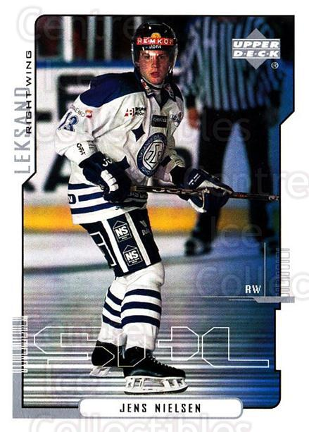 2000-01 Swedish Upper Deck #112 Jens Nielsen<br/>6 In Stock - $2.00 each - <a href=https://centericecollectibles.foxycart.com/cart?name=2000-01%20Swedish%20Upper%20Deck%20%23112%20Jens%20Nielsen...&quantity_max=6&price=$2.00&code=88404 class=foxycart> Buy it now! </a>