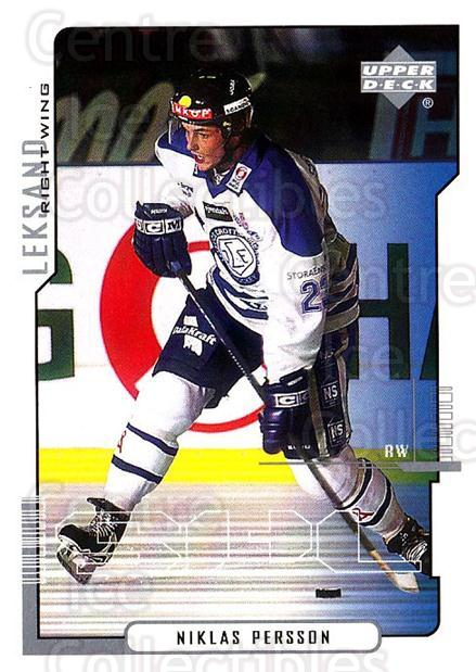 2000-01 Swedish Upper Deck #115 Niklas Persson<br/>5 In Stock - $2.00 each - <a href=https://centericecollectibles.foxycart.com/cart?name=2000-01%20Swedish%20Upper%20Deck%20%23115%20Niklas%20Persson...&quantity_max=5&price=$2.00&code=88406 class=foxycart> Buy it now! </a>