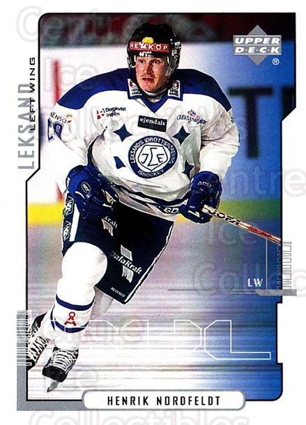 2000-01 Swedish Upper Deck #116 Henrik Nordfeldt<br/>8 In Stock - $2.00 each - <a href=https://centericecollectibles.foxycart.com/cart?name=2000-01%20Swedish%20Upper%20Deck%20%23116%20Henrik%20Nordfeld...&quantity_max=8&price=$2.00&code=88407 class=foxycart> Buy it now! </a>