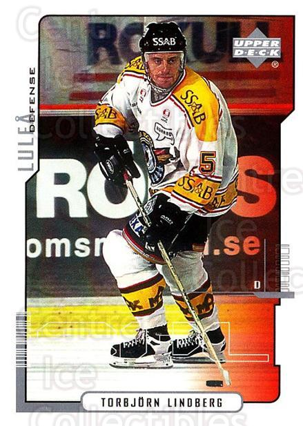 2000-01 Swedish Upper Deck #121 Torbjorn Lindberg<br/>7 In Stock - $2.00 each - <a href=https://centericecollectibles.foxycart.com/cart?name=2000-01%20Swedish%20Upper%20Deck%20%23121%20Torbjorn%20Lindbe...&quantity_max=7&price=$2.00&code=88412 class=foxycart> Buy it now! </a>