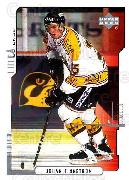 2000-01 Swedish Upper Deck #125 Johan Finnstrom<br/>9 In Stock - $2.00 each - <a href=https://centericecollectibles.foxycart.com/cart?name=2000-01%20Swedish%20Upper%20Deck%20%23125%20Johan%20Finnstrom...&quantity_max=9&price=$2.00&code=88416 class=foxycart> Buy it now! </a>