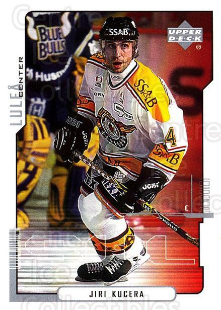 2000-01 Swedish Upper Deck #126 Jiri Kucera<br/>5 In Stock - $2.00 each - <a href=https://centericecollectibles.foxycart.com/cart?name=2000-01%20Swedish%20Upper%20Deck%20%23126%20Jiri%20Kucera...&quantity_max=5&price=$2.00&code=88417 class=foxycart> Buy it now! </a>