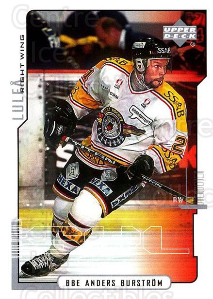 2000-01 Swedish Upper Deck #130 Anders Burstrom<br/>7 In Stock - $2.00 each - <a href=https://centericecollectibles.foxycart.com/cart?name=2000-01%20Swedish%20Upper%20Deck%20%23130%20Anders%20Burstrom...&quantity_max=7&price=$2.00&code=88422 class=foxycart> Buy it now! </a>