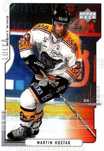 2000-01 Swedish Upper Deck #132 Martin Hostak<br/>2 In Stock - $2.00 each - <a href=https://centericecollectibles.foxycart.com/cart?name=2000-01%20Swedish%20Upper%20Deck%20%23132%20Martin%20Hostak...&quantity_max=2&price=$2.00&code=88424 class=foxycart> Buy it now! </a>