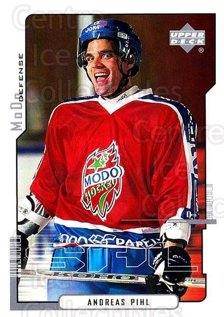 2000-01 Swedish Upper Deck #151 Andreas Pihl<br/>5 In Stock - $2.00 each - <a href=https://centericecollectibles.foxycart.com/cart?name=2000-01%20Swedish%20Upper%20Deck%20%23151%20Andreas%20Pihl...&quantity_max=5&price=$2.00&code=88442 class=foxycart> Buy it now! </a>
