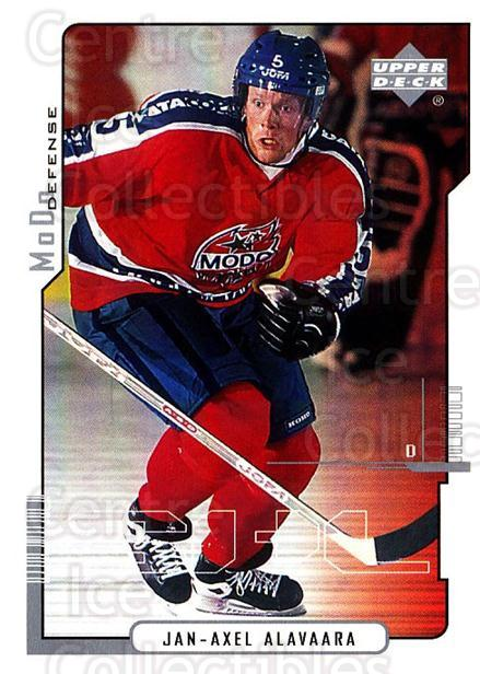 2000-01 Swedish Upper Deck #153 Jan-Axel Alavaara<br/>8 In Stock - $2.00 each - <a href=https://centericecollectibles.foxycart.com/cart?name=2000-01%20Swedish%20Upper%20Deck%20%23153%20Jan-Axel%20Alavaa...&quantity_max=8&price=$2.00&code=88443 class=foxycart> Buy it now! </a>