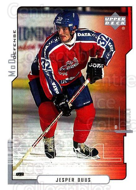 2000-01 Swedish Upper Deck #156 Jesper Duus<br/>6 In Stock - $2.00 each - <a href=https://centericecollectibles.foxycart.com/cart?name=2000-01%20Swedish%20Upper%20Deck%20%23156%20Jesper%20Duus...&quantity_max=6&price=$2.00&code=88446 class=foxycart> Buy it now! </a>