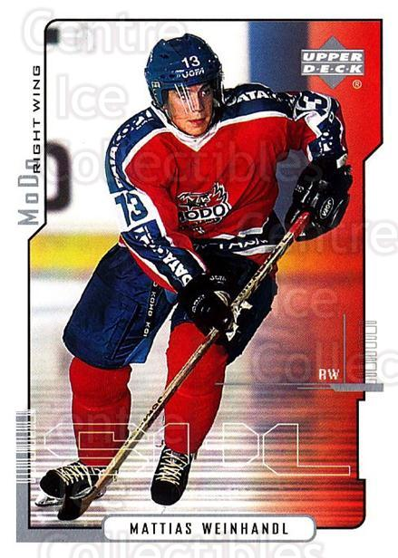 2000-01 Swedish Upper Deck #160 Mattias Weinhandl<br/>5 In Stock - $2.00 each - <a href=https://centericecollectibles.foxycart.com/cart?name=2000-01%20Swedish%20Upper%20Deck%20%23160%20Mattias%20Weinhan...&quantity_max=5&price=$2.00&code=88451 class=foxycart> Buy it now! </a>