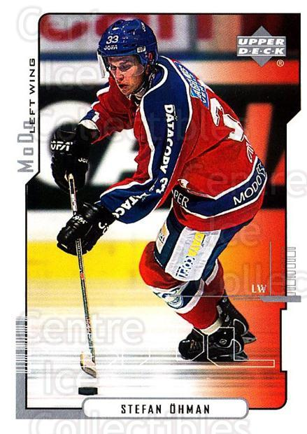 2000-01 Swedish Upper Deck #164 Stefan Ohman<br/>7 In Stock - $2.00 each - <a href=https://centericecollectibles.foxycart.com/cart?name=2000-01%20Swedish%20Upper%20Deck%20%23164%20Stefan%20Ohman...&quantity_max=7&price=$2.00&code=88454 class=foxycart> Buy it now! </a>
