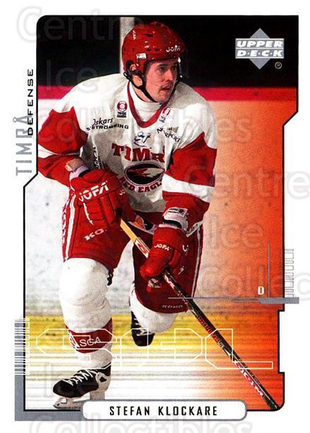 2000-01 Swedish Upper Deck #167 Stefan Klockare<br/>6 In Stock - $2.00 each - <a href=https://centericecollectibles.foxycart.com/cart?name=2000-01%20Swedish%20Upper%20Deck%20%23167%20Stefan%20Klockare...&quantity_max=6&price=$2.00&code=88456 class=foxycart> Buy it now! </a>