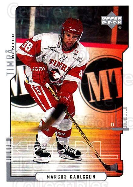<a href=index.aspx?SetName=2000-01%20Swedish%20Upper%20Deck>2000-01 Swedish Upper Deck</a> #169 <a href=index.aspx?PlayerName=Marcus%20Karlsson> Marcus Karlsson</a><br/>5 in stock - $2.00 each - <a href=https://centericecollectibles.foxycart.com/cart?name=2000-01%20Swedish%20Upper%20Deck%20%23169%20Marcus%20Karlsson...&price=$2.00&code=88458 class=foxycart> Buy it now! </a>