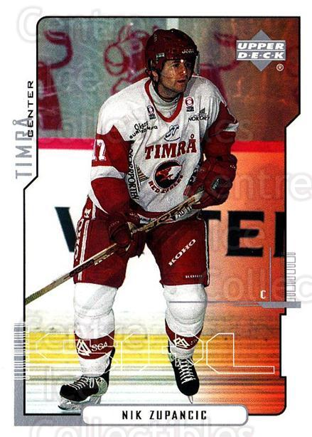 2000-01 Swedish Upper Deck #172 Nik Zupancic<br/>1 In Stock - $2.00 each - <a href=https://centericecollectibles.foxycart.com/cart?name=2000-01%20Swedish%20Upper%20Deck%20%23172%20Nik%20Zupancic...&quantity_max=1&price=$2.00&code=88462 class=foxycart> Buy it now! </a>