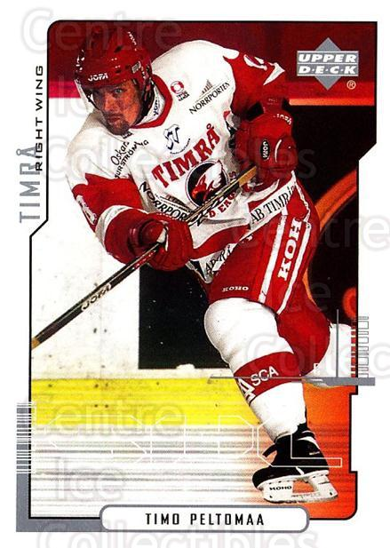 2000-01 Swedish Upper Deck #173 Timo Peltomaa<br/>7 In Stock - $2.00 each - <a href=https://centericecollectibles.foxycart.com/cart?name=2000-01%20Swedish%20Upper%20Deck%20%23173%20Timo%20Peltomaa...&quantity_max=7&price=$2.00&code=88463 class=foxycart> Buy it now! </a>