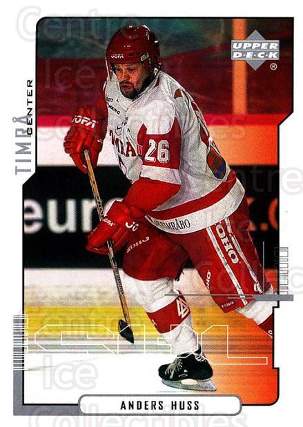 2000-01 Swedish Upper Deck #177 Anders Huss<br/>8 In Stock - $2.00 each - <a href=https://centericecollectibles.foxycart.com/cart?name=2000-01%20Swedish%20Upper%20Deck%20%23177%20Anders%20Huss...&quantity_max=8&price=$2.00&code=88466 class=foxycart> Buy it now! </a>
