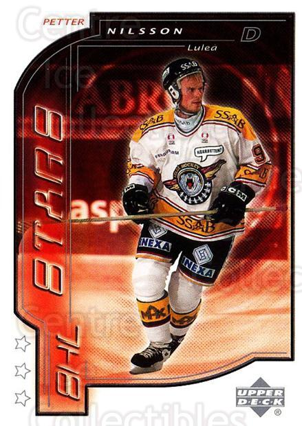 2000-01 Swedish Upper Deck #201 Petter Nilsson<br/>7 In Stock - $2.00 each - <a href=https://centericecollectibles.foxycart.com/cart?name=2000-01%20Swedish%20Upper%20Deck%20%23201%20Petter%20Nilsson...&quantity_max=7&price=$2.00&code=88488 class=foxycart> Buy it now! </a>