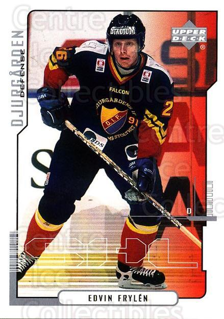 2000-01 Swedish Upper Deck #47 Edvin Frylen<br/>6 In Stock - $2.00 each - <a href=https://centericecollectibles.foxycart.com/cart?name=2000-01%20Swedish%20Upper%20Deck%20%2347%20Edvin%20Frylen...&quantity_max=6&price=$2.00&code=88522 class=foxycart> Buy it now! </a>