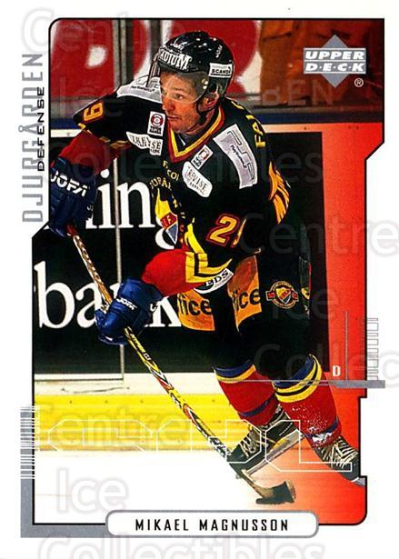 2000-01 Swedish Upper Deck #48 Mikael Magnusson<br/>5 In Stock - $2.00 each - <a href=https://centericecollectibles.foxycart.com/cart?name=2000-01%20Swedish%20Upper%20Deck%20%2348%20Mikael%20Magnusso...&price=$2.00&code=88523 class=foxycart> Buy it now! </a>