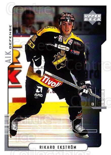 2000-01 Swedish Upper Deck #5 Rikard Ekstrom<br/>5 In Stock - $2.00 each - <a href=https://centericecollectibles.foxycart.com/cart?name=2000-01%20Swedish%20Upper%20Deck%20%235%20Rikard%20Ekstrom...&quantity_max=5&price=$2.00&code=88525 class=foxycart> Buy it now! </a>