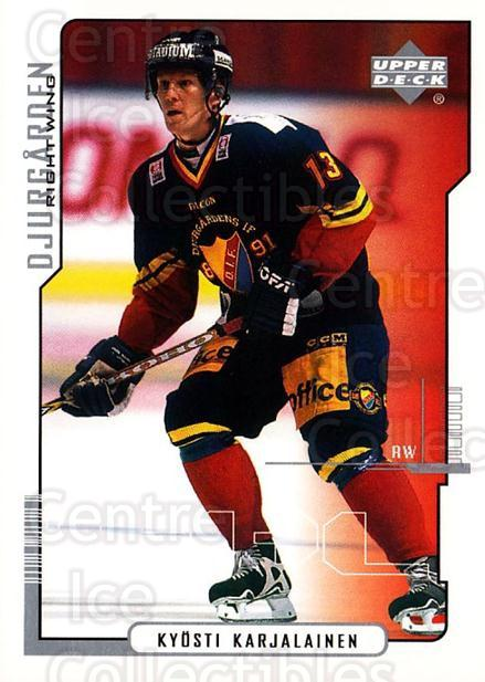 2000-01 Swedish Upper Deck #52 Kyosti Karjalainen<br/>6 In Stock - $2.00 each - <a href=https://centericecollectibles.foxycart.com/cart?name=2000-01%20Swedish%20Upper%20Deck%20%2352%20Kyosti%20Karjalai...&price=$2.00&code=88528 class=foxycart> Buy it now! </a>