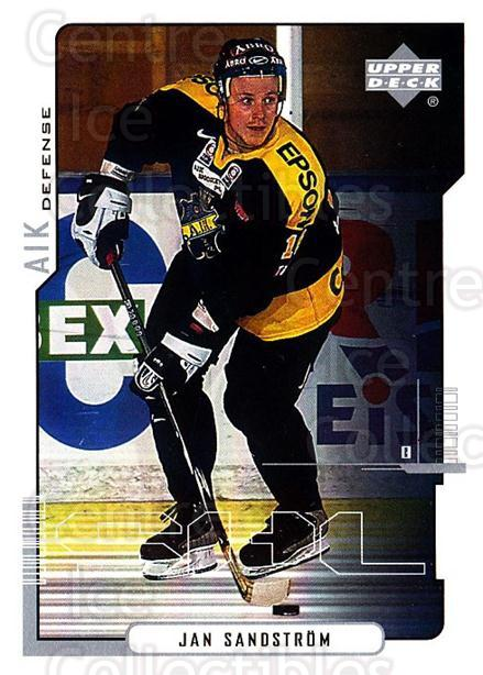 2000-01 Swedish Upper Deck #6 Jan Sandstrom<br/>5 In Stock - $2.00 each - <a href=https://centericecollectibles.foxycart.com/cart?name=2000-01%20Swedish%20Upper%20Deck%20%236%20Jan%20Sandstrom...&quantity_max=5&price=$2.00&code=88535 class=foxycart> Buy it now! </a>