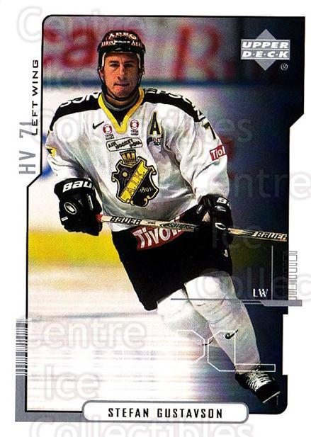 2000-01 Swedish Upper Deck #7 Stefan Gustavson<br/>6 In Stock - $2.00 each - <a href=https://centericecollectibles.foxycart.com/cart?name=2000-01%20Swedish%20Upper%20Deck%20%237%20Stefan%20Gustavso...&quantity_max=6&price=$2.00&code=88544 class=foxycart> Buy it now! </a>