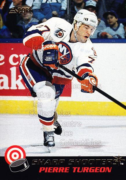 1992-93 Score Sharp Shooters #25 Pierre Turgeon<br/>6 In Stock - $2.00 each - <a href=https://centericecollectibles.foxycart.com/cart?name=1992-93%20Score%20Sharp%20Shooters%20%2325%20Pierre%20Turgeon...&quantity_max=6&price=$2.00&code=8874 class=foxycart> Buy it now! </a>