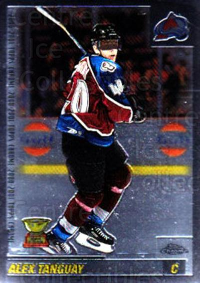 2000-01 Topps Chrome #144 Alex Tanguay<br/>5 In Stock - $1.00 each - <a href=https://centericecollectibles.foxycart.com/cart?name=2000-01%20Topps%20Chrome%20%23144%20Alex%20Tanguay...&quantity_max=5&price=$1.00&code=88992 class=foxycart> Buy it now! </a>