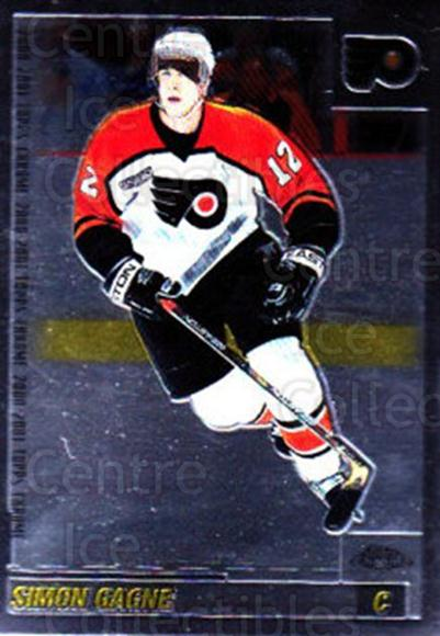 2000-01 Topps Chrome #146 Simon Gagne<br/>4 In Stock - $1.00 each - <a href=https://centericecollectibles.foxycart.com/cart?name=2000-01%20Topps%20Chrome%20%23146%20Simon%20Gagne...&quantity_max=4&price=$1.00&code=88994 class=foxycart> Buy it now! </a>