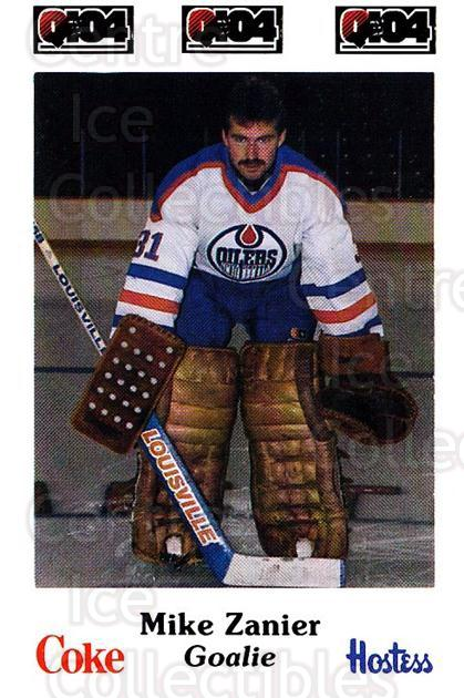 1984-85 Nova Scotia Oilers #18 Mike Zanier<br/>1 In Stock - $3.00 each - <a href=https://centericecollectibles.foxycart.com/cart?name=1984-85%20Nova%20Scotia%20Oilers%20%2318%20Mike%20Zanier...&quantity_max=1&price=$3.00&code=88 class=foxycart> Buy it now! </a>