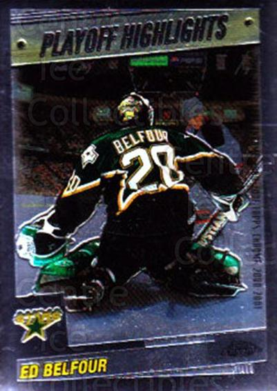 2000-01 Topps Chrome #162 Ed Belfour<br/>2 In Stock - $1.00 each - <a href=https://centericecollectibles.foxycart.com/cart?name=2000-01%20Topps%20Chrome%20%23162%20Ed%20Belfour...&price=$1.00&code=89010 class=foxycart> Buy it now! </a>