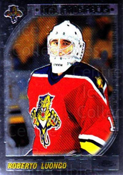 2000-01 Topps Chrome #166 Roberto Luongo<br/>6 In Stock - $2.00 each - <a href=https://centericecollectibles.foxycart.com/cart?name=2000-01%20Topps%20Chrome%20%23166%20Roberto%20Luongo...&quantity_max=6&price=$2.00&code=89014 class=foxycart> Buy it now! </a>
