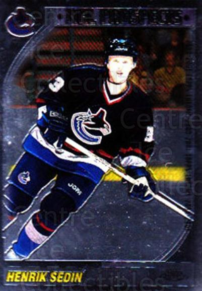 2000-01 Topps Chrome #209 Henrik Sedin<br/>5 In Stock - $1.00 each - <a href=https://centericecollectibles.foxycart.com/cart?name=2000-01%20Topps%20Chrome%20%23209%20Henrik%20Sedin...&quantity_max=5&price=$1.00&code=89052 class=foxycart> Buy it now! </a>