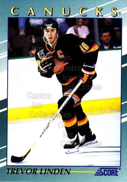 1992-93 Score Young Superstars #16 Trevor Linden<br/>5 In Stock - $2.00 each - <a href=https://centericecollectibles.foxycart.com/cart?name=1992-93%20Score%20Young%20Superstars%20%2316%20Trevor%20Linden...&quantity_max=5&price=$2.00&code=8907 class=foxycart> Buy it now! </a>
