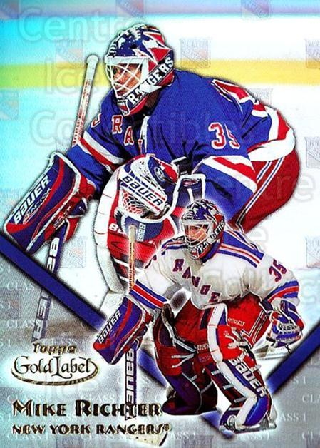 2000-01 Topps Gold Label Class 1 #27 Mike Richter<br/>6 In Stock - $1.00 each - <a href=https://centericecollectibles.foxycart.com/cart?name=2000-01%20Topps%20Gold%20Label%20Class%201%20%2327%20Mike%20Richter...&quantity_max=6&price=$1.00&code=89116 class=foxycart> Buy it now! </a>