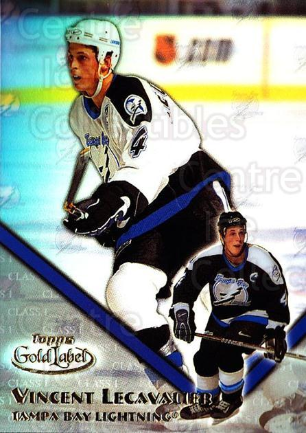 2000-01 Topps Gold Label Class 1 #69 Vincent Lecavalier<br/>5 In Stock - $1.00 each - <a href=https://centericecollectibles.foxycart.com/cart?name=2000-01%20Topps%20Gold%20Label%20Class%201%20%2369%20Vincent%20Lecaval...&quantity_max=5&price=$1.00&code=89156 class=foxycart> Buy it now! </a>