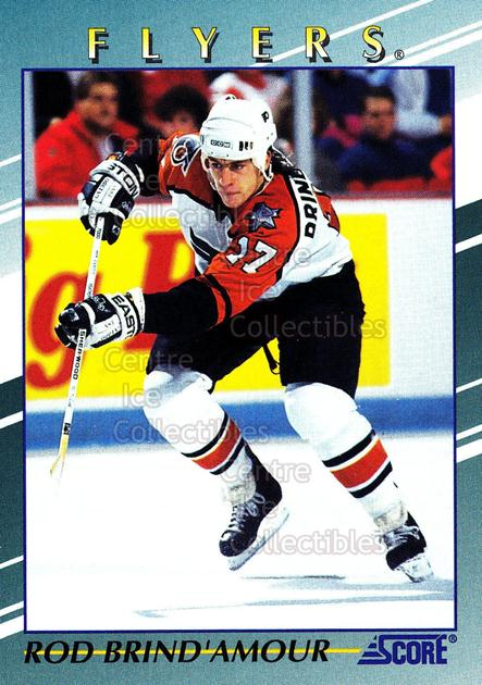 1992-93 Score Young Superstars #26 Rod Brind'Amour<br/>4 In Stock - $2.00 each - <a href=https://centericecollectibles.foxycart.com/cart?name=1992-93%20Score%20Young%20Superstars%20%2326%20Rod%20Brind'Amour...&quantity_max=4&price=$2.00&code=8915 class=foxycart> Buy it now! </a>
