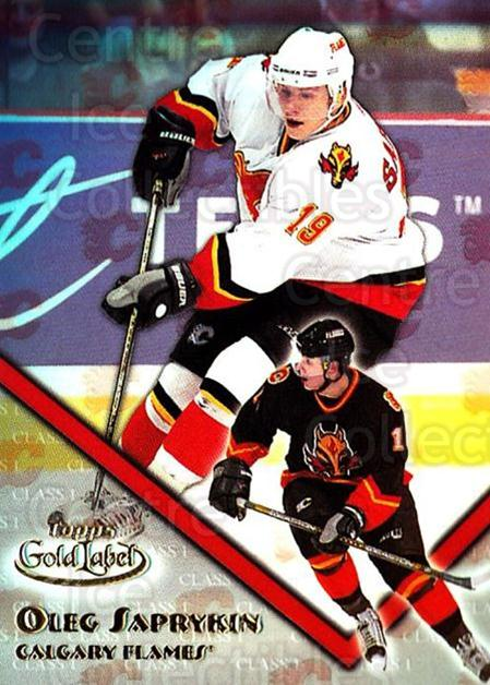 2000-01 Topps Gold Label Class 1 #89 Oleg Saprykin<br/>6 In Stock - $1.00 each - <a href=https://centericecollectibles.foxycart.com/cart?name=2000-01%20Topps%20Gold%20Label%20Class%201%20%2389%20Oleg%20Saprykin...&quantity_max=6&price=$1.00&code=89173 class=foxycart> Buy it now! </a>