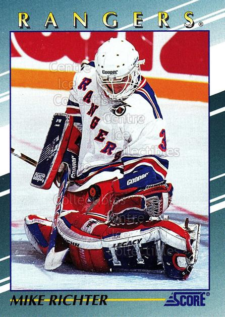 1992-93 Score Young Superstars #9 Mike Richter<br/>3 In Stock - $2.00 each - <a href=https://centericecollectibles.foxycart.com/cart?name=1992-93%20Score%20Young%20Superstars%20%239%20Mike%20Richter...&quantity_max=3&price=$2.00&code=8928 class=foxycart> Buy it now! </a>
