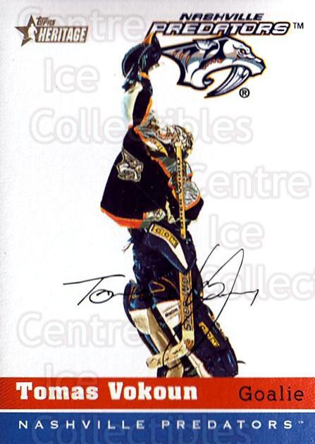 2000-01 Topps Heritage #212 Tomas Vokoun<br/>3 In Stock - $1.00 each - <a href=https://centericecollectibles.foxycart.com/cart?name=2000-01%20Topps%20Heritage%20%23212%20Tomas%20Vokoun...&quantity_max=3&price=$1.00&code=89349 class=foxycart> Buy it now! </a>