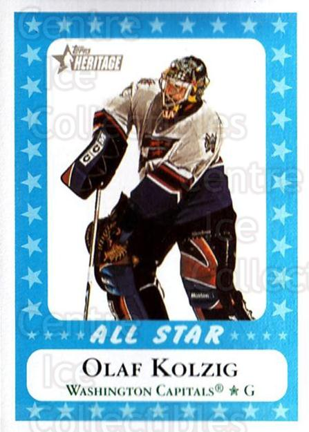 2000-01 Topps Heritage #226 Olaf Kolzig<br/>6 In Stock - $1.00 each - <a href=https://centericecollectibles.foxycart.com/cart?name=2000-01%20Topps%20Heritage%20%23226%20Olaf%20Kolzig...&quantity_max=6&price=$1.00&code=89364 class=foxycart> Buy it now! </a>